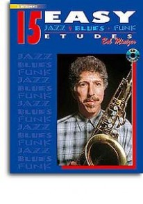 MINTZER B. 15 EASY JAZZ BLUES FUNK EB INSTRUMENTS