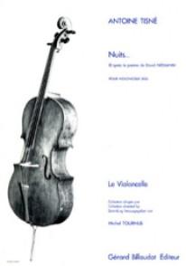 TISNE A. NUITS VIOLONCELLE SOLO