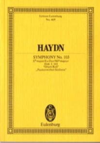 HAYDN J. SYMPHONIE N°103 CONDUCTEUR