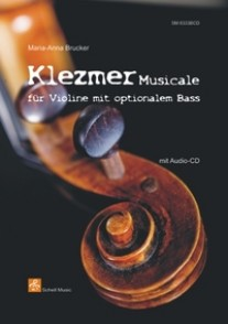 BRUCKER M.A. KLEZMER MUSICALE FOR VIOLIN