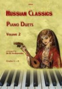 RUSSIAN CLASSICS PIANO DUETS VOL 2