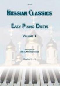 RUSSIAN CLASSICS PIANO DUETS VOL 1
