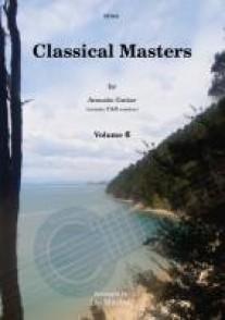 CLASSICAL MASTERS VOL 6 GUITARE TAB