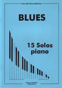 MINVIELLE-SEBASTIA P. BLUES PIANO