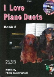 CUNNINGHAM P. I LOVE PIANO DUETS VOL 2 PIANO 4 MAINS