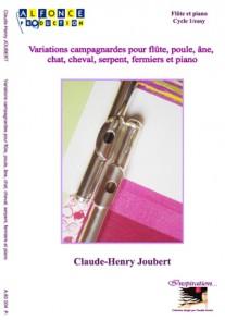 JOUBERT C.H. VARIATIONS CAMPAGNARDES FLUTE