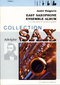 WAIGNEIN A. EASY SAXOPHONE ENSEMBLE