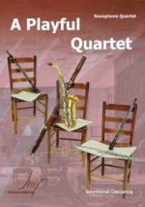 DECANCQ R. A PLAYFUL QUARTET SAXOS
