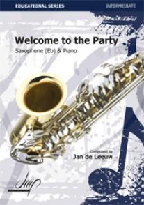 DE LEEUW J. WELCOME TO THE PARTY SAXO ALTO