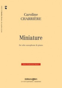 CHARRIERE C. MINIATURE SAXO MIB