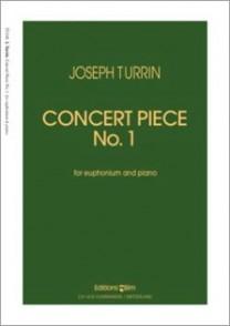 TURRIN J. CONCERT PIECE N°1 EUPHONIUM