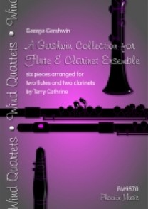 A GERSHWIN COLLECTION FOR FLUTE AND CLARINETTE ENSEMBLE
