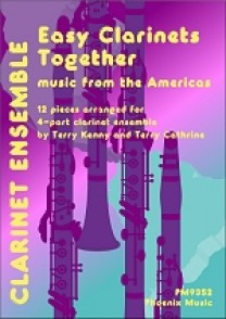 EASY CLARINETS TOGETHER MUSIC FROM THE AMERICAS