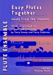 EASY FLUTES TOGETHER MUSIC FROM THE CLASSICS