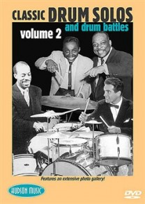DVD CLASSIC DRUM SOLOS AND DRUM BATTLES VOL 2