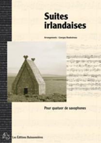 BOULESTREAU G. SUITES IRLANDAISES 4 SAXOPHONES