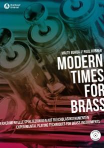 BURBA M./HUBNER P. MODERN TIMES FOR BRASS