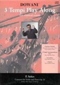 SEITZ F. CONCERTO OP 22 VIOLON + CD