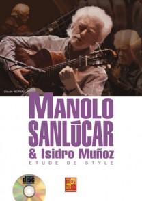 SANLUCAR M./MUNOZ I. ETUDE DE STYLE GUITARE TAB
