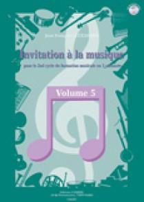 ALEXANDRE J.F. INVITATION A LA MUSIQUE VOL 5