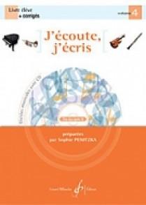 PENITZKA S. J'ECOUTE J'ECRIS VOL 4