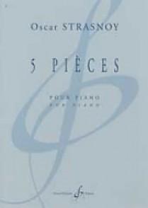 STRASNOY O. 5 PIECES PIANO