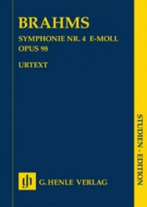 BRAHMS J. SYMPHONIE N°4 OP 98 CONDUCTEUR