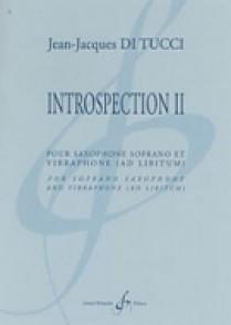 DI TUCCI J.J. INTROSPECTION II SAXOPHONE SOPRANO VIBRAPHONE