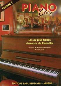 PIANO BAR VOL 1 PVG