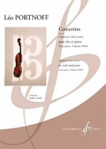 PORTNOFF L. CONCERTINO OP 13 ALTO