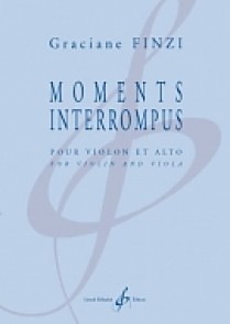 FINZI G. MOMENTS INTERROMPUS VIOLON ET ALTO
