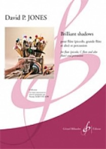 JONES A.P. BRILLIANT SHADOWS FLUTE PERCUSSION