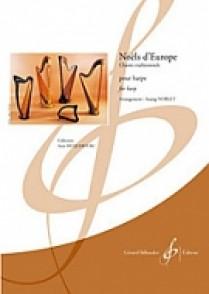 NOBLET S. NOELS D'EUROPE HARPE