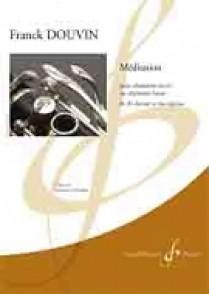 DOUVIN F. MEDITATION CLARINETTE BASSE OU CLARINETTE SIB SOLO