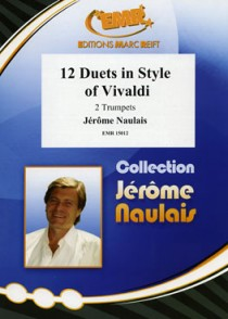 NAULAIS J. 12 DUETS IN STYLE OF VIVALDI 2 TROMPETTES