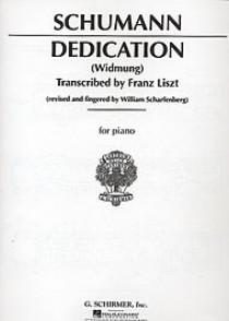 SCHUMANN R. DEDICATION PIANO