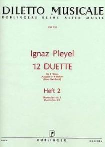 PLEYEL I. 12 DUETTES VOL 2 FLUTES