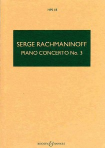 RACHMANINOV S. PIANO CONCERTO N°3 CONDUCTEUR