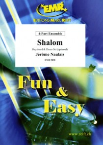 NAULAIS J. SHALOM 4 PART ENSEMBLE ET PIANO
