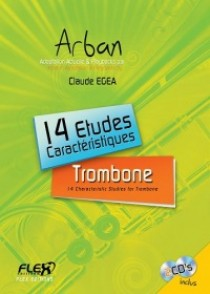 ARBAN 14 ETUDES CARACTERISTIQUES TROMBONE
