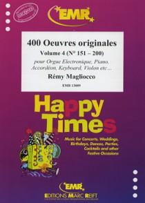 400 OEUVRES ORIGINALES VOL 4