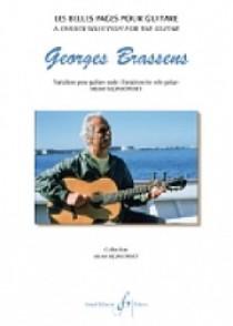 BRASSENS G. LES BELLES PAGES VARIATIONS GUITARE