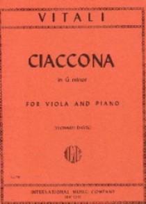 VITALI T.A. CHACONNE ALTO