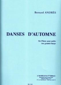 ANDRES B.  DANSES D'AUTOMNE HARPE