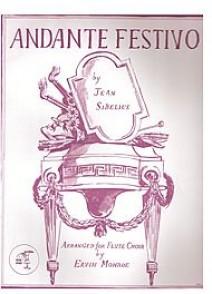 SIBELIUS J. ANDANTE FESTIVO ENSEMBLE FLUTES