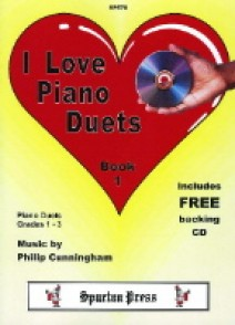 CUNNINGHAM P. I LOVE PIANO DUETS VOL 1 PIANO 4 MAINS