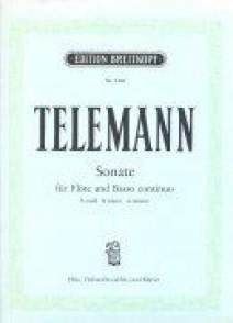 TELEMANN G.P. SONATE SI MINEUR FLUTE