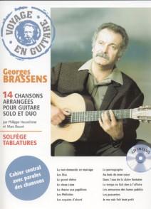BRASSENS G. VOYAGE EN GUITARE