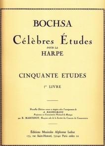 BOCHSA R.N. 50 ETUDES VOL 1 HARPE
