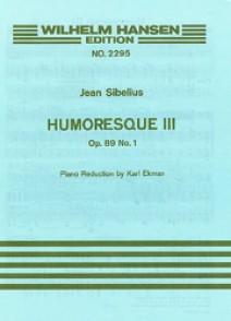 SIBELIUS J. HUMORESQUE  3 OP 89 N°1 VIOLON